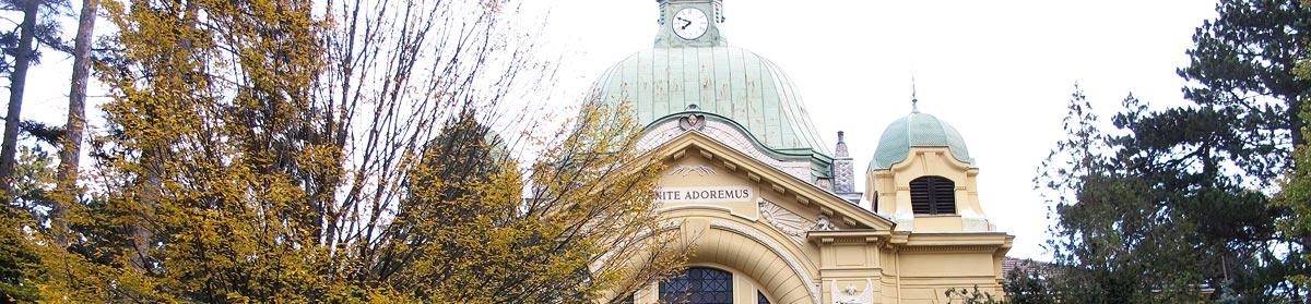 Sliderbild Militärpfarrkirche des Militärkommandos Wien, Militärkirche St. Johann Nepomuk, 1130 Wien, Wien