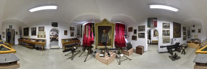 Traditionsraum der Erzherzog-Johann-Kaserne in Straß